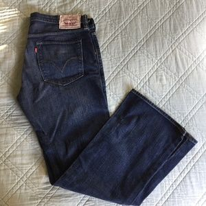 Men's Levi's Slim Boot  Cut 507 Jeans 38x32